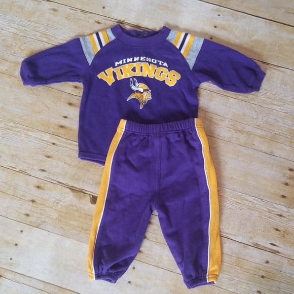 a84e2177 Minnesota Vikings Onesie and Pants